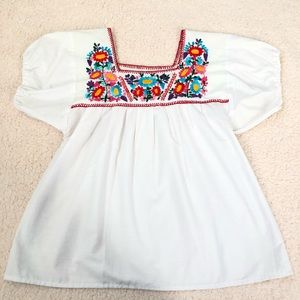 Tops - Mexican embroidered top
